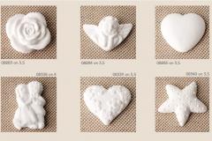 alessandra creazioni campi bisenzio firenze 1 ART.08283 ETM gessetti decorativi cuore stella sposini