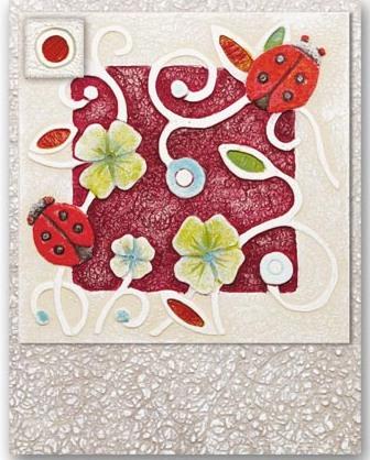 Portachiavi Coccinella magnete 3 posti 626123ro